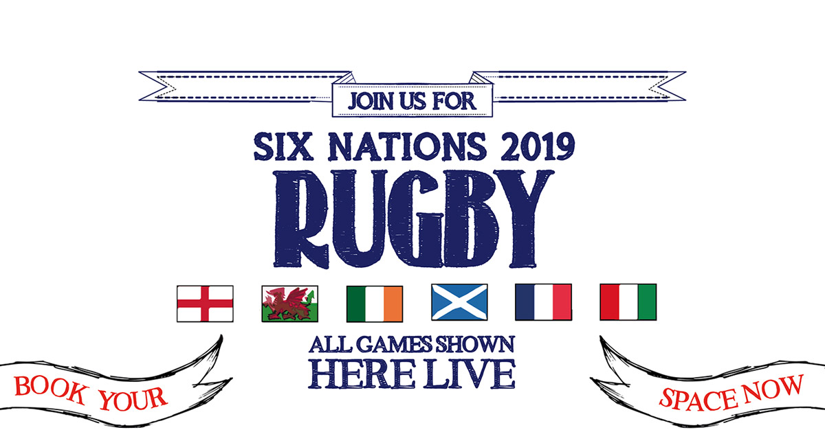 Watch the 6 Nations at The Washington in London