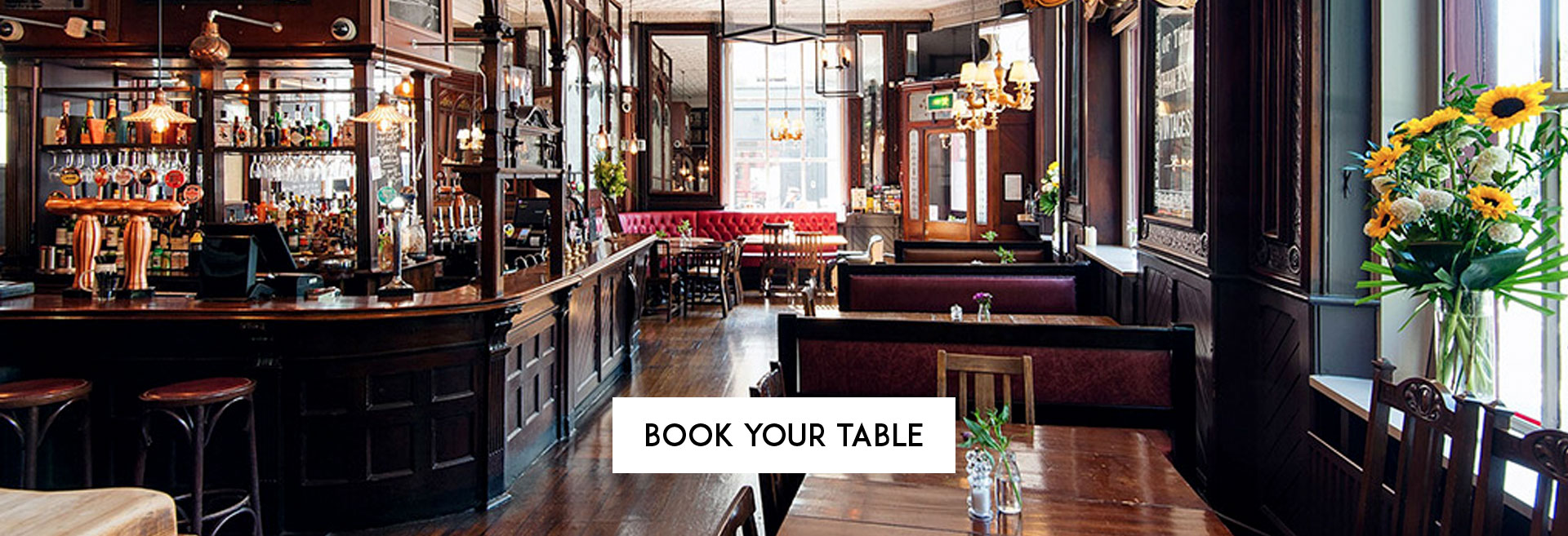 Book Your Table at The Washington